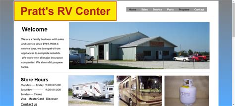 While york focuses on high durability and extreme reliability, coleman. Pratt's RV Center - Rv Repairs Near Me
