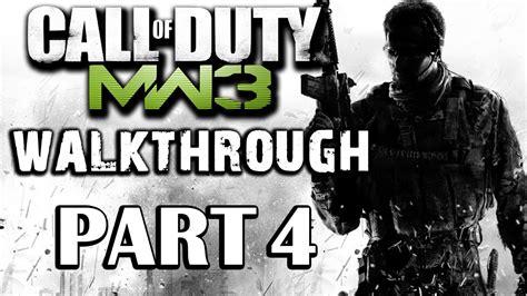 Call Of Duty Modern Warfare 3 Walkthrough Part 4