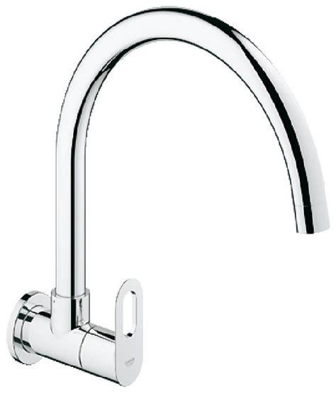Wall Mounted Kitchen Faucets India by Buy Grohe Bauloop Kitchen Sink Tap Wall Mounted 31227000