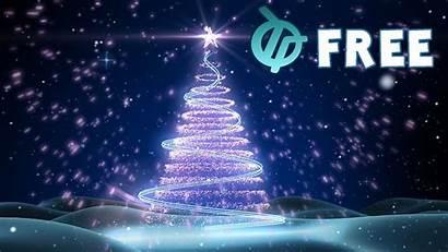 Christmas Animated Animation Moving Desktop Wallpapers Tree