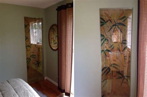 Tropical Bamboo Stalks Beaded Curtain 125 Strands (+hanging Hardware) Oslo Curtain Tracks Brisbane Curtains Target Australia Bedroom Ideas 2016 Black And Taupe Shower 108 X 72 Fabric Diy Sewing Beaded Door How To Make Balloon Style