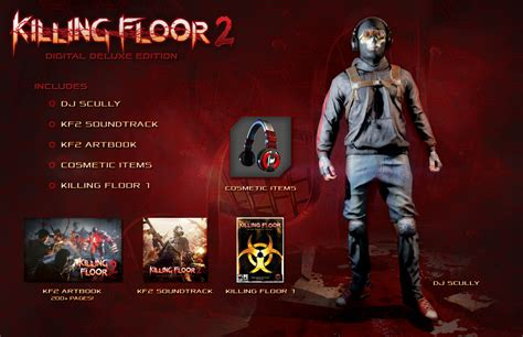 killing floor 2 all cosmetics killing floor 2 digital deluxe and system requirements detailed hardcore gamer