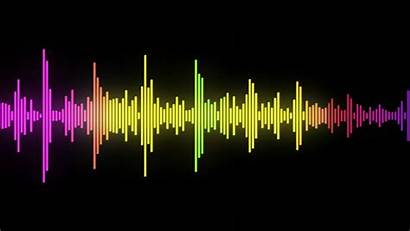 Audio Background Waves Sound Wave Animated Cool