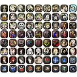 Sheet Icons Profile Castlevania Souls Grimoire Spriters