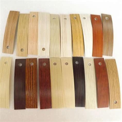 customized furniture accessories laminate shelf edging tape woodgrain pvc edge banding