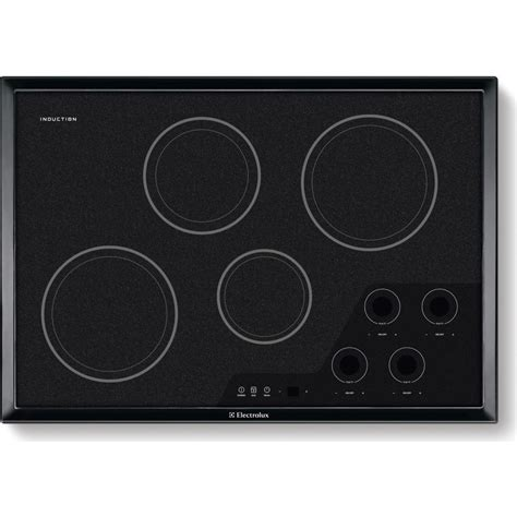 induction cooktop electrolux ew30ic60ib electrolux 30 quot induction cooktop
