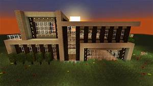Modern Wooden House [Creation] | Minecraft PE Maps