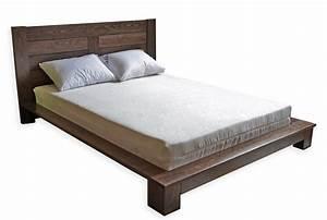 Lit Double Bois : lit soho futon d 39 or matelas naturelsfuton d or matelas ~ Premium-room.com Idées de Décoration