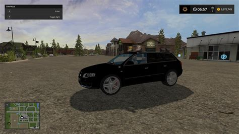 audi  black   fs farming simulator  mod