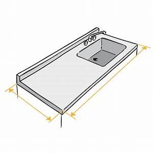 Profondeur Plan De Travail : home inox fabrication d 39 un plan de travail inox sur mesure ~ Nature-et-papiers.com Idées de Décoration