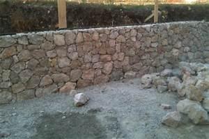Mur En Moellon : muret pierre pas cher ~ Dallasstarsshop.com Idées de Décoration