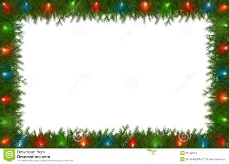 Transparent Background Christmas Border