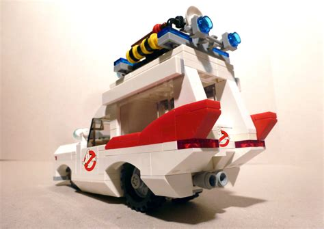 [moc] Ecto-1 Ghostbusters (ex Hearse/icecream Truck