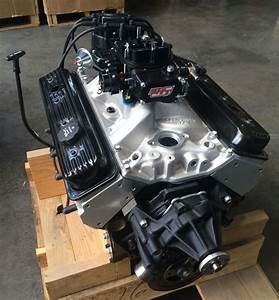 Ema Gm 350ci Vortec Long Engine Edelbrock Alloy Heads