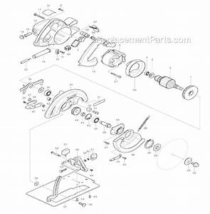 Makita 5007f Parts List And Diagram   Ereplacementparts Com