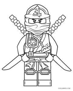 printable ninjago coloring pages  kids