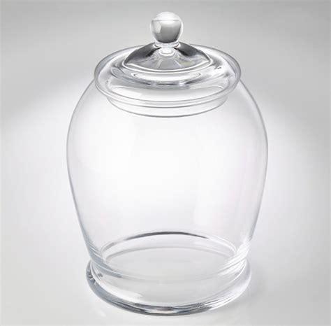 vasi in vetro con coperchio set vasi bon bon fior di loto riccione