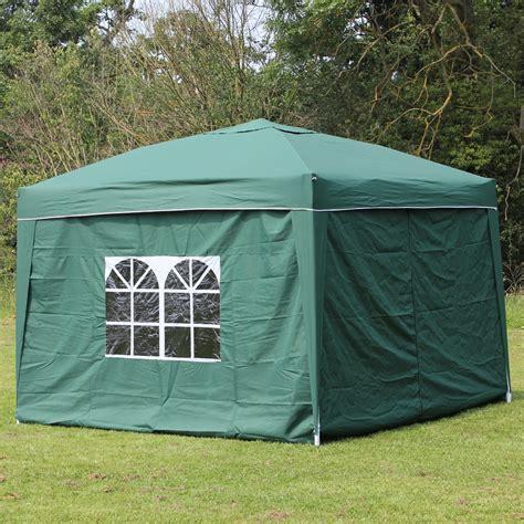 palm springs ez pop  canopy gazebo tent   side walls  ebay
