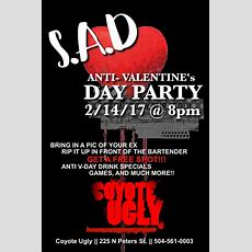 Antivalentine's Day Party  Coyote Ugly Saloon