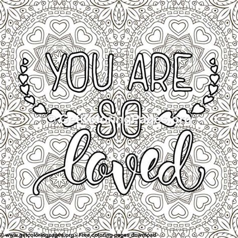 love quotes    loved coloring pages getcoloringpagesorg
