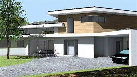 cours de cuisine muret maison contemporaine d 39 architecte à toiture tuiles noires
