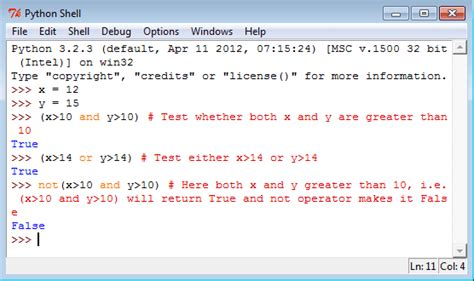 python operators w3resource