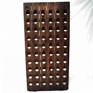 Dunkle Flaschen Für Olivenöl : champagner r ttelbrett als weinregal f r 60 flaschen dunkle patina ebay ~ Orissabook.com Haus und Dekorationen