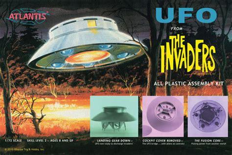 Ufo フロム The Invaders アトランティス プラモデル
