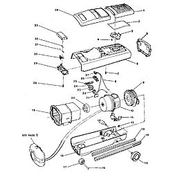 electrolux 00067 vacuum canister genuine parts