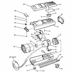 electrolux model 00067 vacuum canister genuine parts With diagram parts list for model el6989a electroluxparts vacuumparts