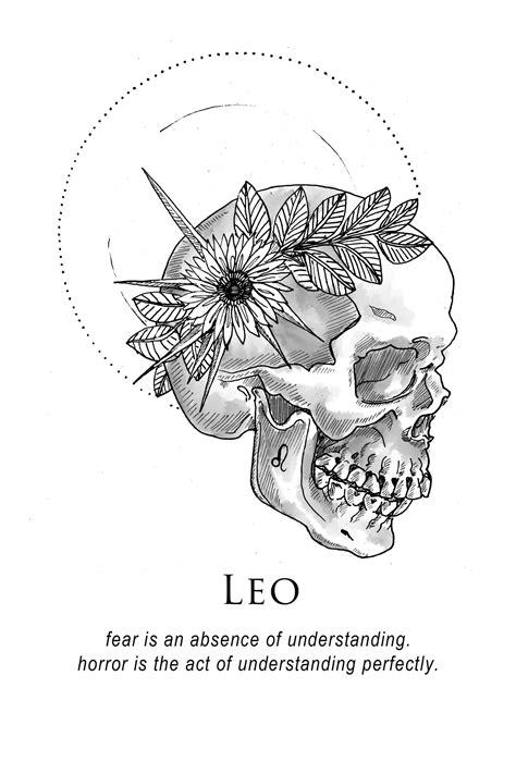 Amrit Brar's Portfolio - Book XII: Obituaries This skull   Skull Tattoo   Leo tattoos, Leo