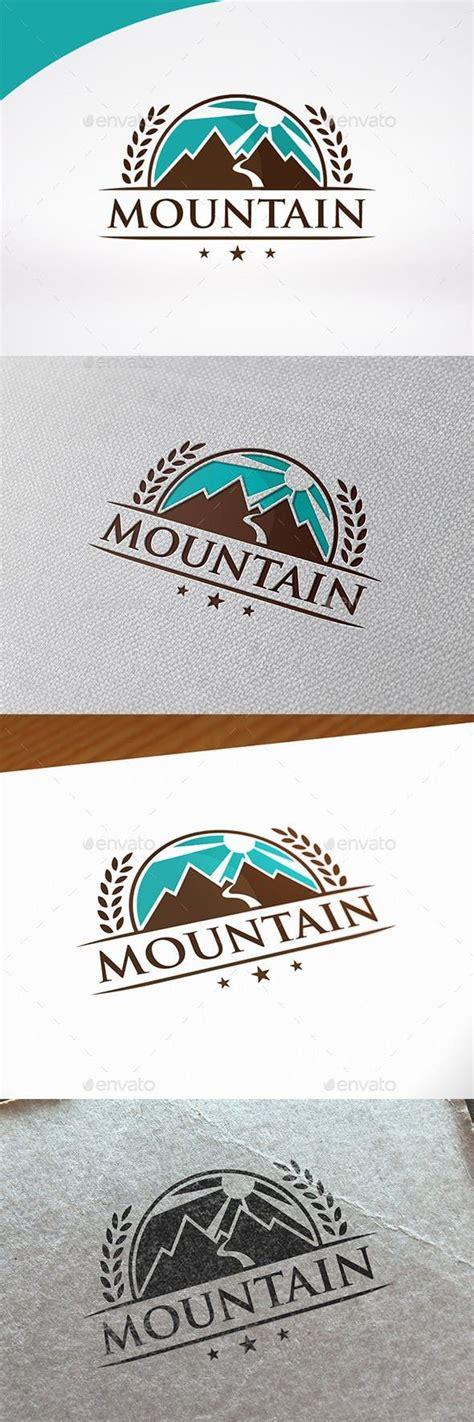 Mountain Badge Logo Template | Badge logo, Logo templates ...