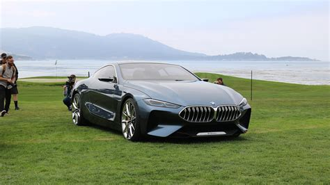 Bmw 8 Series Concept Makes North American Debut At Pebble