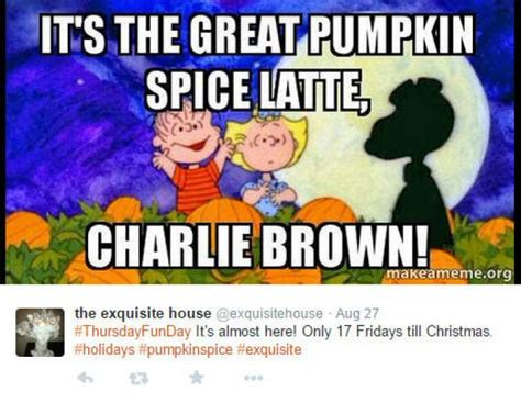 Pumpkin Spice Latte Meme - twitter users ushered in fall with a fresh round of pumpkin spice photo 8596535 116552