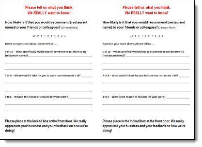 guest feedback form for restaurant 24 best comment cards images on pinterest customer