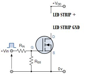 Mosfet Arduino Rgb Led Strip Problem Electrical
