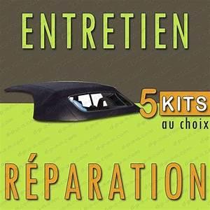 Réparation Capote Cabriolet : kit de r novation entretien ou r paration pour capotes alpaga ou vinyles noires ~ Gottalentnigeria.com Avis de Voitures