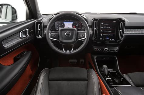 volvo xc40 interior 2019 volvo xc40 r design t5 test image reboot