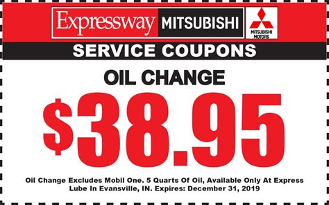 Mitsubishi Coupons by Mitsubishi Service Specials Evansville In Mitsubishi