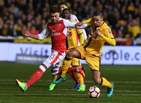 Sutton United v Arsenal The Emirates FA Cup Fifth Round ...