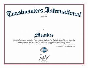 membership certificate With toastmasters certificate of appreciation template