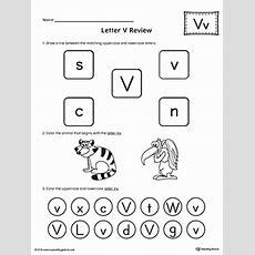 All About Letter V Printable Worksheet Myteachingstationcom