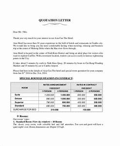 Correct Format For Business Letter Free 10 Sample Quotation Letter Templates In Ms Word