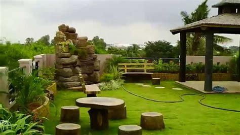 desain roof garden rumah minimalis
