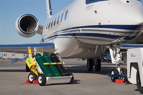 aero  bottle oxygen service cart complete remote aero