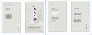 the music event program invitation will make your planning With wedding invitation music free download