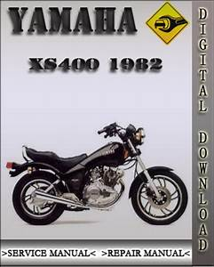 1982 Yamaha Xs400 Factory Service Repair Manual