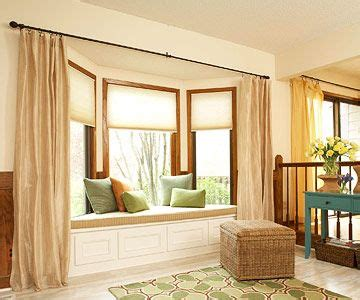 how to drape a bay window 1000 images about bay window designs on