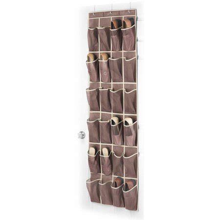 the door organizer walmart whitmor manufacturing 6351 1253 java the door shoe