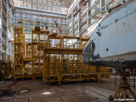The Abandoned Soviet Space Centre Complete with Two ...